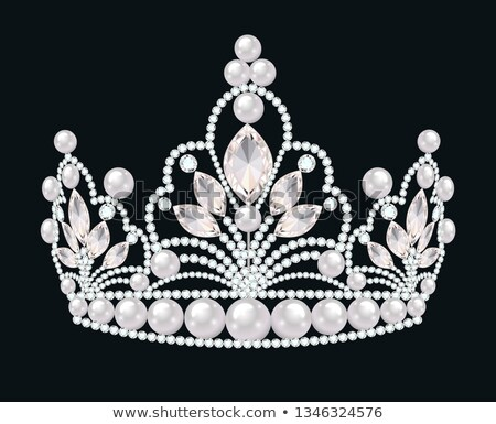Rhinestone tiara Stock photo © jsnover
