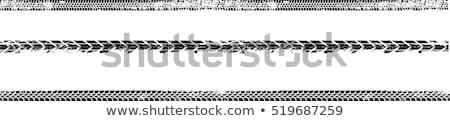 pneu · textura · inverno · preto - foto stock © cla78