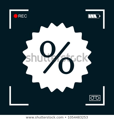 percent mark icon stock photo © tashatuvango