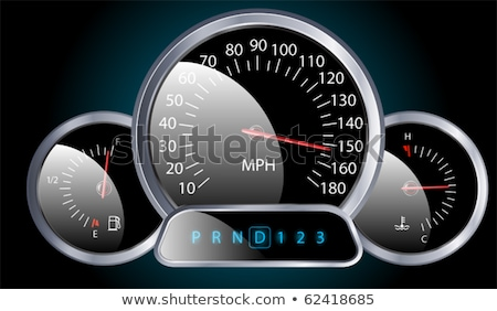 car dash board petrol meter, Stock photo © experimental