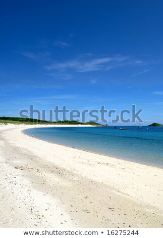 Higher Town bay beach, St. Martins Isles of Scilly. Stock photo © latent