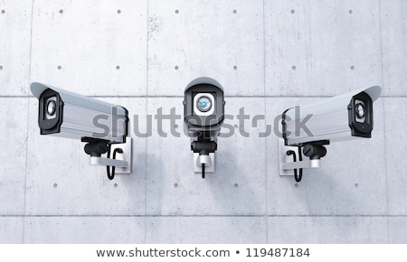 Security camera mounted on a wall Stock photo © Balefire9