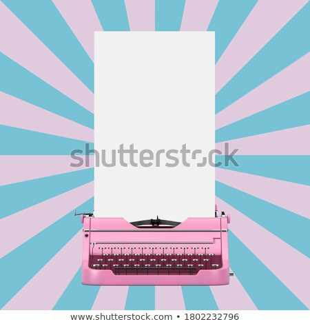 Geel · nota · paars · witte · business - stockfoto © latent