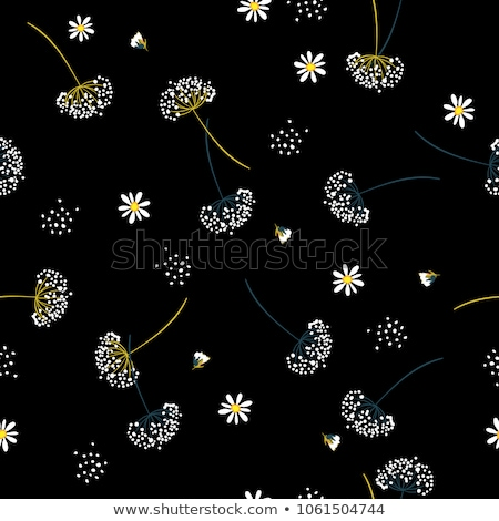 Dandelion. Seamless floral background.  stock photo © isveta