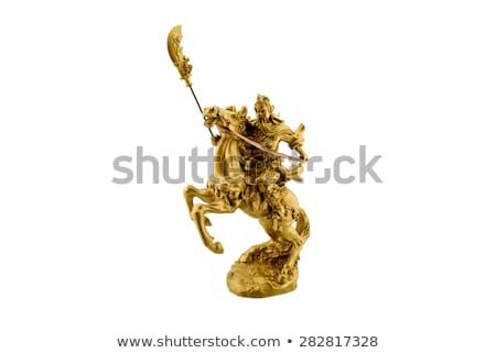 древних скульптуры верхом небе поклонения Бога Сток-фото © bbbar