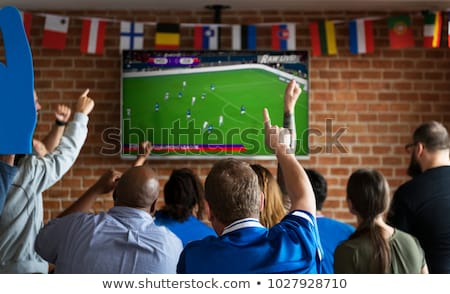Excited German soccer supporters Stock photo © photography33