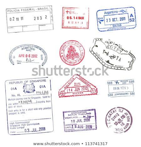 Argentina post stamp Stock photo © Taigi