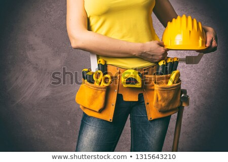 Handywoman at work. Stock photo © photography33