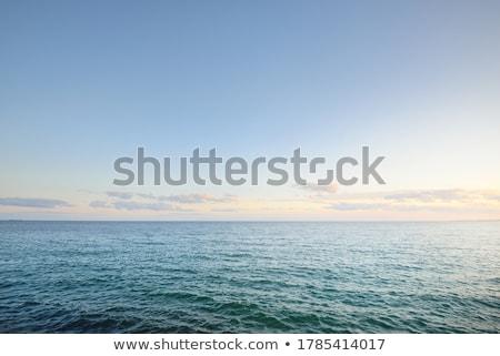 Zeegezicht landschap zee oceaan Blauw surfen Stockfoto © ozaiachin