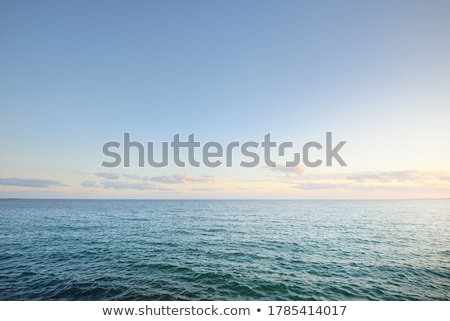 морской пейзаж пейзаж морем океана синий поиск Сток-фото © ozaiachin