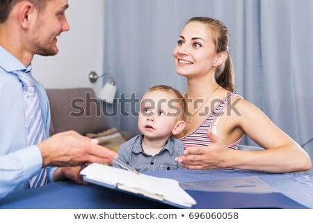 Woman conducting market research Stock photo © photography33