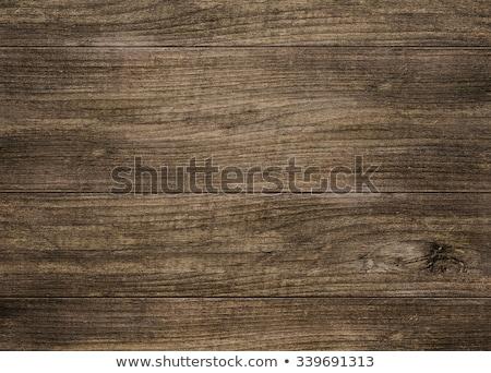 Antieke houtnerf gepolijst meubels groot hout Stockfoto © Gordo25