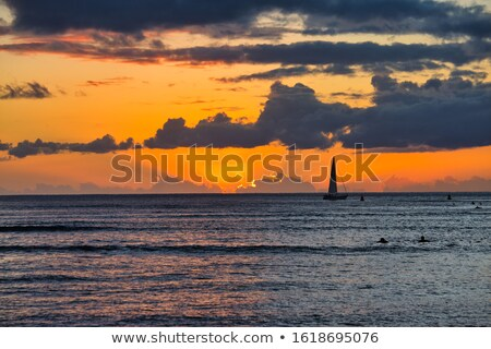 modern hotel in waikiki hawaii stock photo © backyardproductions