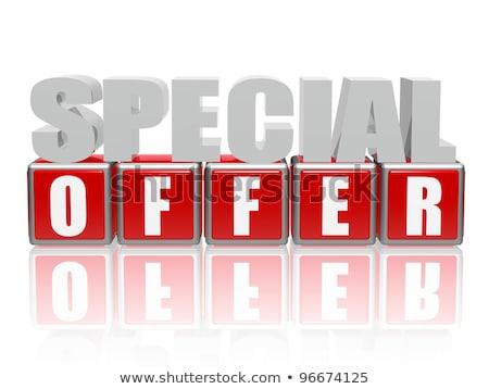 ストックフォト: ベスト · 購入 · 3D · 文字 · 文字 · 赤