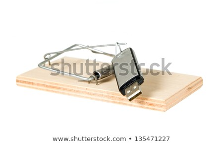 A mouse trap with portable driver Stock photo © carenas1