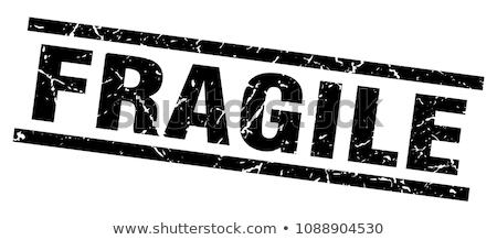 Kruchy pieczęć obraz tekstury streszczenie czerwony Zdjęcia stock © cteconsulting