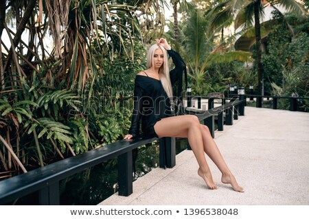 Sultry blond woman posing Stock photo © photography33