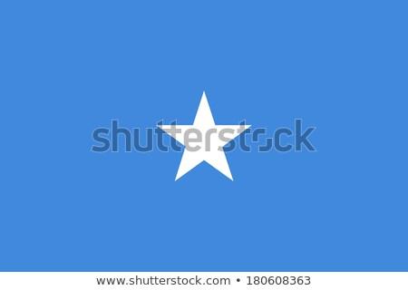 Vlag Somalië schaduw witte achtergrond zwarte Stockfoto © claudiodivizia