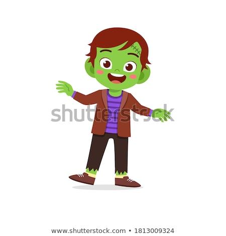Frankenstein kid Stock photo © Dazdraperma