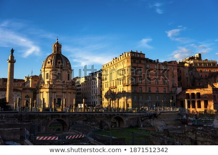 Foro Traiano in Rome, Italy.  Stock photo © SecretSilent