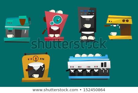 Old coffee machine Stock photo © SecretSilent