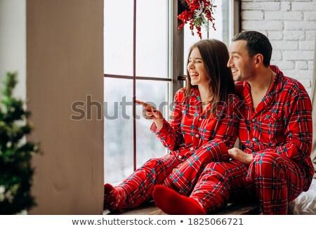 Blauw · lange · mouw · shirt · geïsoleerd · witte · ontwerp - stockfoto © nito