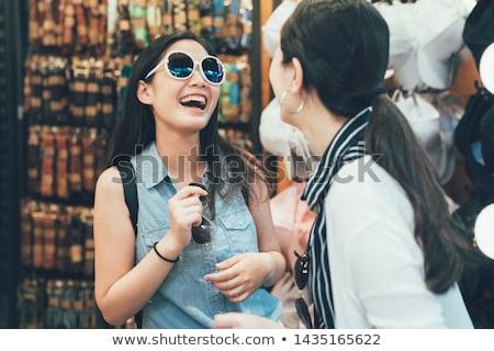 молодые китайский женщину вверх купить Сток-фото © jayfish