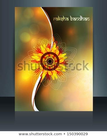 Modelo celebração colorido festival ilustração vetor Foto stock © bharat