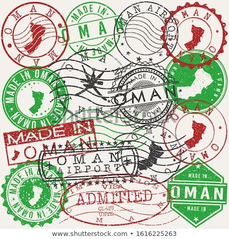 post stamp from oman stock photo © taigi