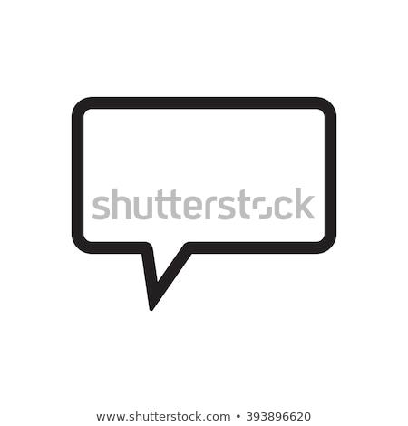 bubble speech support concept stock photo © make