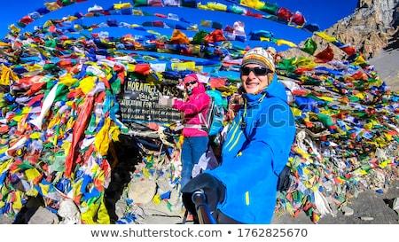 The Annapurna range Stock photo © dutourdumonde
