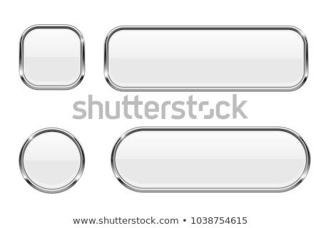 металлический прямоугольник иллюстрация вектора Сток-фото © derocz