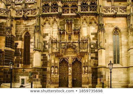 detail of Cathedral of Saint Elizabeth, Kosice, Slovakia Stock photo © phbcz