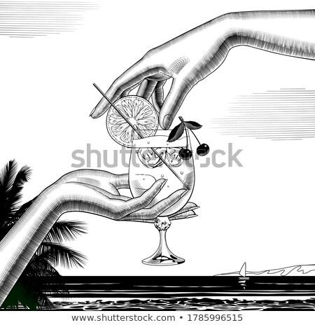 лет · сексуальный · путешествия · девушки · пляж - Сток-фото © carodi