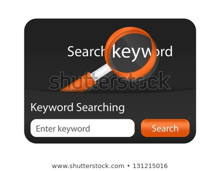 keresés · szó · nagyító · üzlet · technológia · felirat - stock fotó © liliwhite