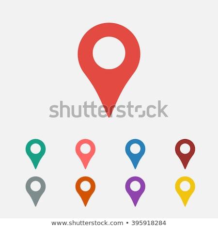 mappa · icona · business · tecnologia · segno · viaggio - foto d'archivio © smoki