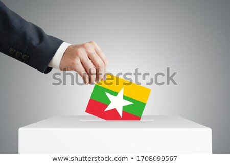 Ballot box Myanmar Stock photo © Ustofre9