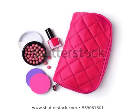 composition of cosmetic accessories isolated Stock photo © konturvid