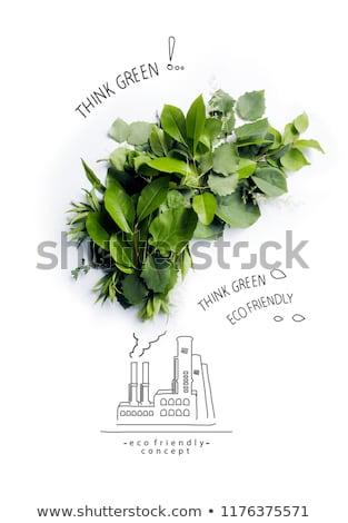Stock fotó: Környezet · üveg · földgömb · kéz · égbolt · absztrakt