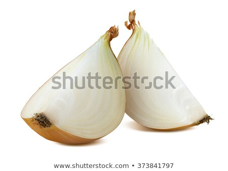 onion cut in two halves stock photo © elly_l