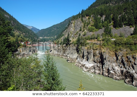 Fraser Canyon in British Columbia Stock photo © hpbfotos