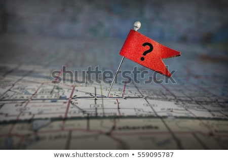 Map Question Stock photo © Lightsource