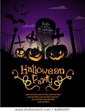 Grungy Halloween Party Background Stock photo © WaD