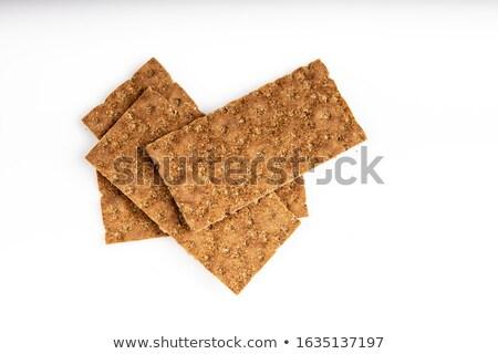 Whole Grain Crisp Bread Stock photo © zhekos