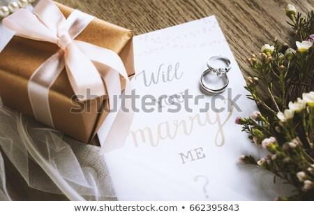 Marry Me Card Stock photo © karenr