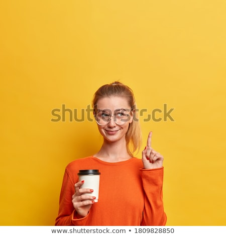 Stock fotó: Stúdiófelvétel · nő · portré · fiatal · nő · pózol · stúdió · keresztbe · tett · kar
