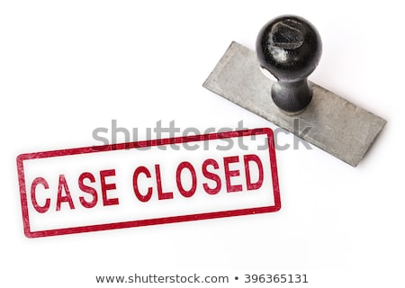 CIA Rubber Stamp Stock photo © Bigalbaloo