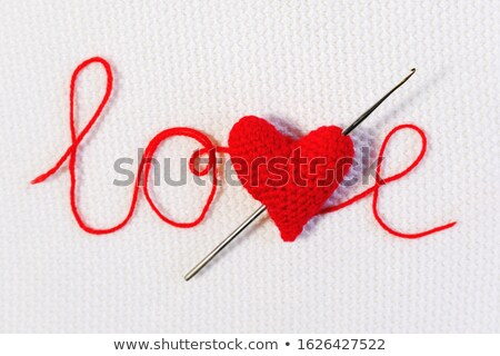 Hooked Heart with Arrow Concept Stock photo © ivelin