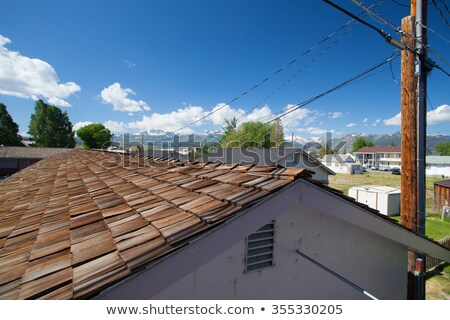 View from the roof of the countryside around Bridgeport Stock photo © CaptureLight