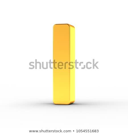 письме полированный объект белый Сток-фото © creisinger